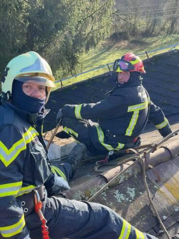 Angažman vatrogasaca na potresom pogođenom području